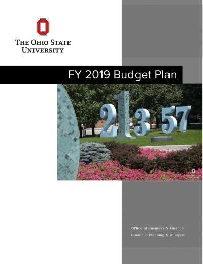 Cover image of FY19 Operating Budget