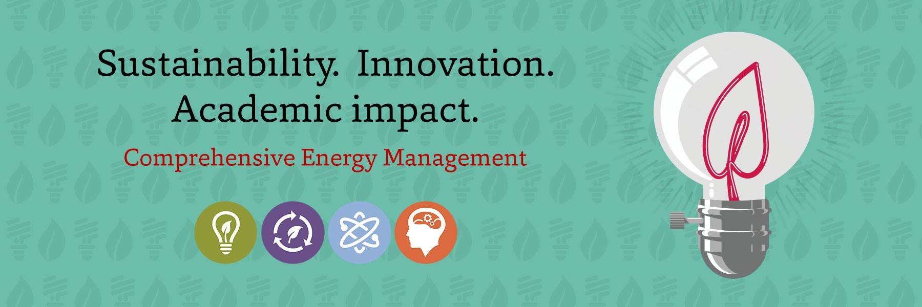 Sustainability. Innovation. Academic impact.
