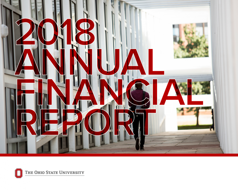 Ohio State University annual report for fiscal 2018