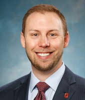 Jake Wozniak, Assistant Vice President and Interim Treasurer of The Ohio State University